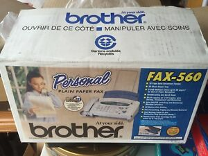 'BROTHER' PLAIN PAPER FAX MACHINE