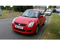 2010 SUZUKI SWIFT GL 1.3 HATCHBACK PETROL RED