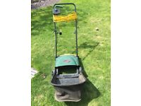 Electric Lawn rake and scarifier