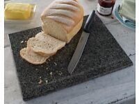 Granite Chopping Board, Trivet and Pestle and Mortar Set