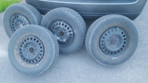 215/60/15 Winter Tires, GOOD-YEAR NORDIC