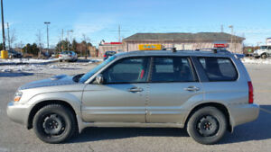 2005 Subaru Forester XT SUV: fully loaded + running perfectly!