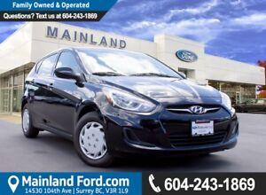 2013 Hyundai Accent L LOCAL, NO ACCIDENTS