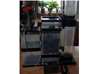 AQUA MEDIC RIFF 500 FILTER SYSTEM & TURBOFLOTOR 1000 SKIMMER &EHEIM PUMP DELIVERY PAYPAL 07544000786