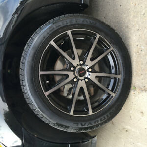 Street Gear Shaddow Rims with General RT 43 Tires