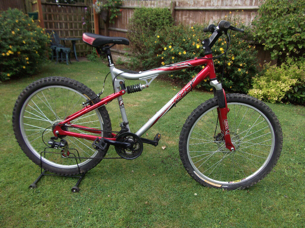 Used Full Dual suspension mountain MTB bike 26\
