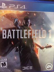 Battlefield 1 $50 obo