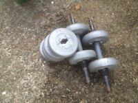 Dumbbell set 2kg x 8 weights