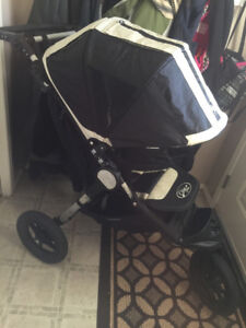 city jogger elite stroller and britax car seat