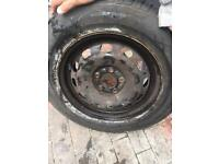 Vw golf wheel plus tyre