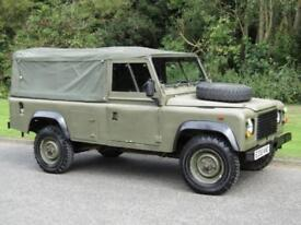 1987 Land Rover 110 2.5 Ex-Army Soft Top Canvas Roof Manual Diesel 4x4
