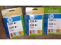 HP Ink Cartridge 339 / 338 / 344