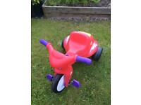 Little Tikes tough tyre trike motorbike, great condition