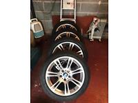 BMW F10 alloys wheels
