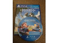 Horizon Zero Dawn for ps4 like new