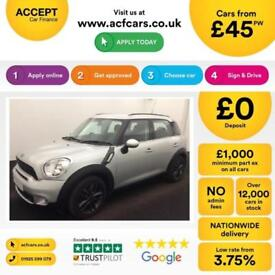Mini Countryman Cooper SD FROM £45 PER WEEK!