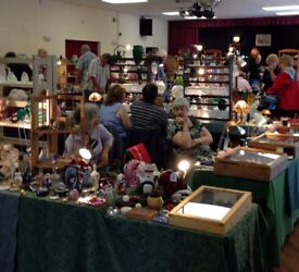 HEMSBY VILLAGE HALL - ANTIQUES & COLLECTORS FAIR - SUNDAY 22ND OCTOBER