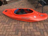 Liquid logic playboat kayak canoe