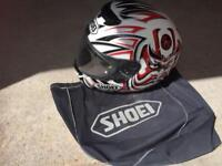 Used SHOEI motorcycle helmet size XL