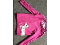 Girls' pink jumpers. Age 1-2 years.