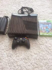 Xbox 360 and Minecraft game