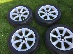 4 Alloy Mags with 4 Winter Tires (P235/55R19)