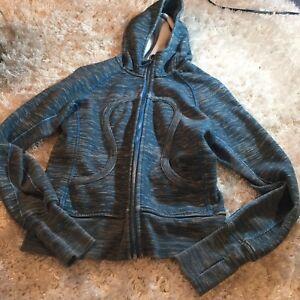 Blue scuba Lululemon hoodie