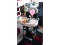 Hauck Disney highchair baby chair