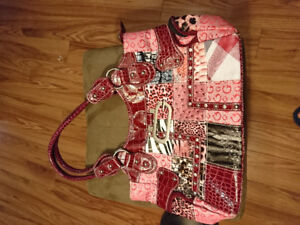 Various purses and other items