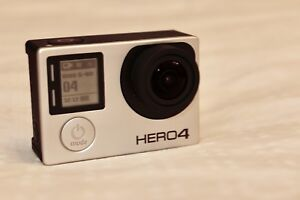 GoPro Hero 4 Silver - Mint Condition