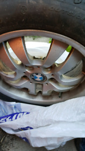 BMW rims and run flat tires