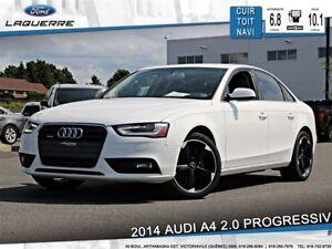 2014 Audi A4 2.0 PROGRESSIV*AWD*CUIR*TOIT*NAVI*A/C**