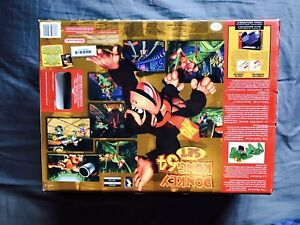 Nintendo 64 N64 Jungle Green en Boîte Edition Donkey Kong