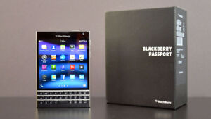Blackberry Passport Unlocked with box and charger!