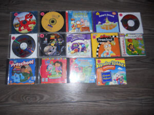 Asorted Kids PC Games