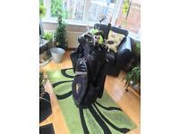 Powakaddy Luxury Golf Bag With Trilogy Club Set