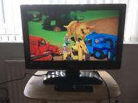 """Logik 26"""" Lcd television with remote control"""