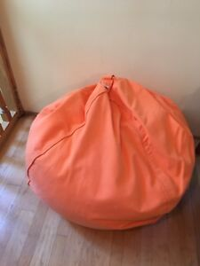 Mybeanbag Bean Bag Chair In Orange