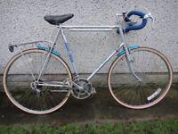 Sun GT 10 vintage retro Road bike 27 inch wheels, 10 gears, 25.5 inch frame silver working order