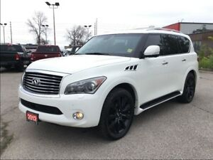 2012 Infiniti QX56 7 PASSENGER**LEATHER**NAV**SUNROOF**DVD**