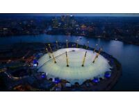 Exciting Bar Staff opportunities at The O2 Arena in the Premium Bars