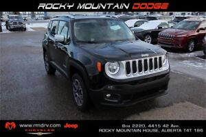2016 Jeep Renegade Limited  4x4 * Heated Leather * REDUCED *