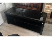 Large Black Gloss TV Unit