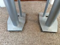 TWO MISSION SPEAKER STANDS