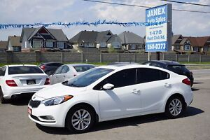 2014 Kia Forte 1.8L LX+ ACCIDENT FREE | ONE OWNER | ALLOYS |...