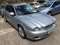 2009 09 Silver Jaguar X-TYPE 2.0D S