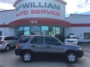 2007 Ford Escape XLS 4WD! 4CYL! Safetied!