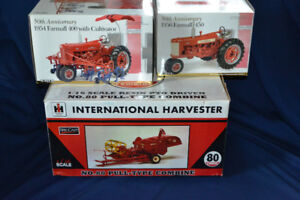 Diecast Toy Tractors at Ontario Show, Woodstock August 27