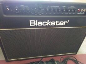 Blackstar HT stage 60 2 x 12 combo amp and padded cover for sale
