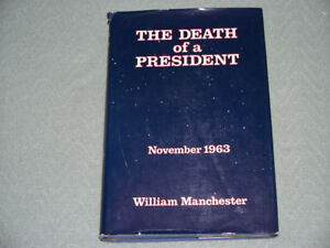 "Vintage Hardcover book - dust jacket ""The Death of a President"""
